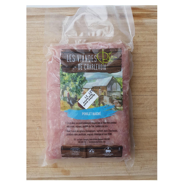Organic Ground Chicken 500g