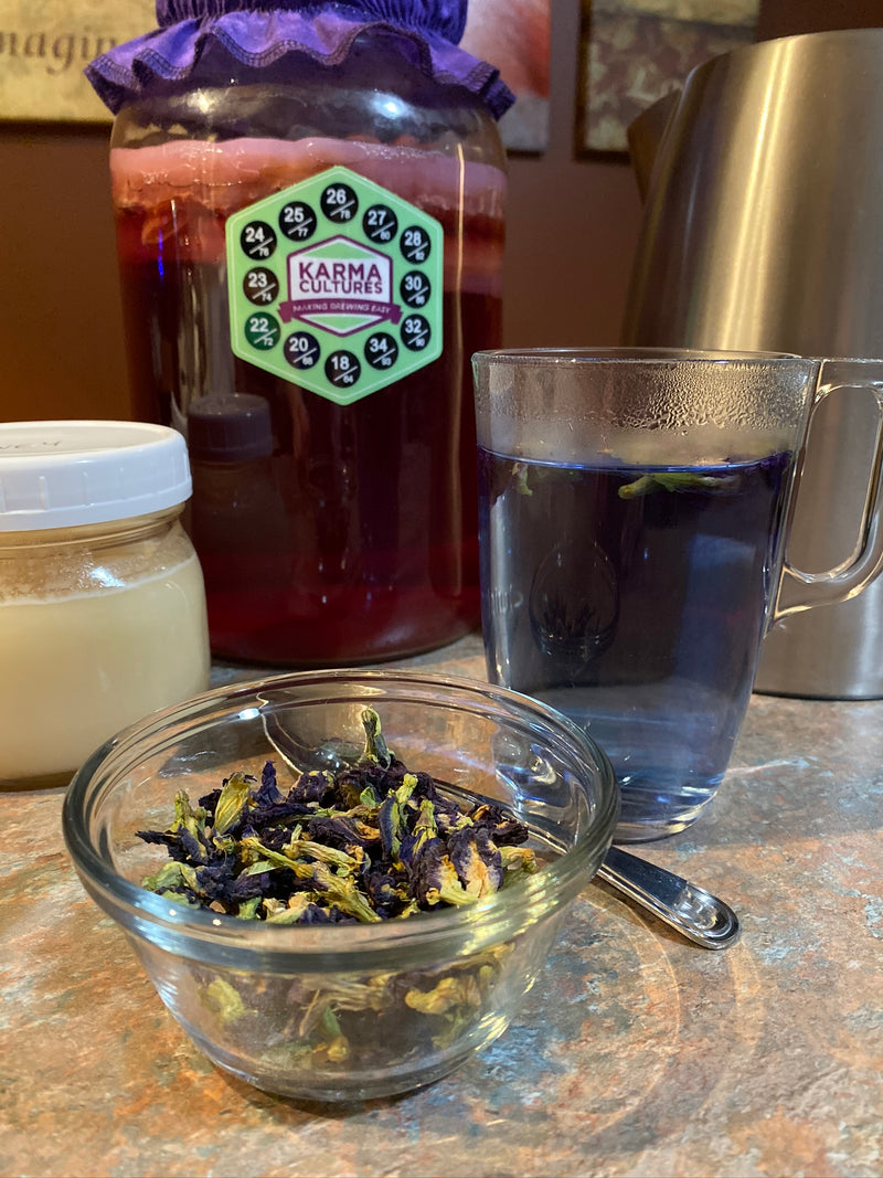 Tea - Butterfly Blue Pea Flowers - Karma Cultures