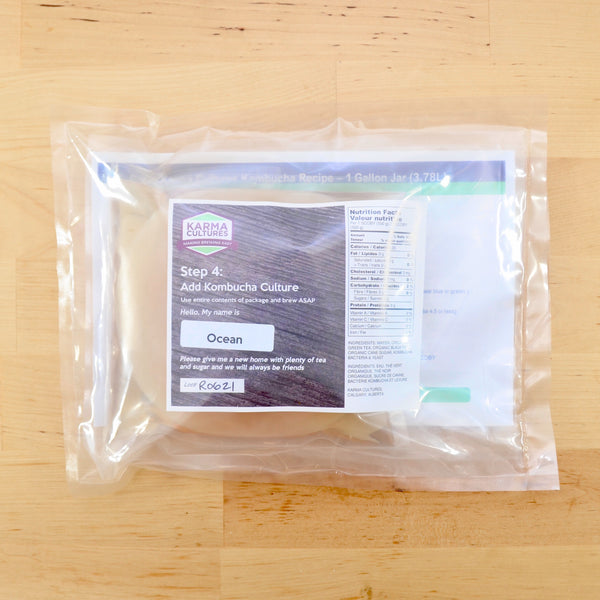 Kombucha Easy Brew Kit Complete - Karma Cultures