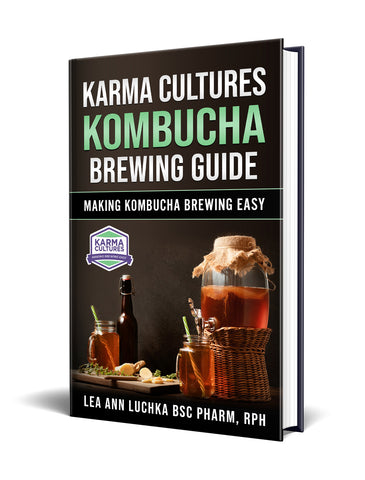 Kombucha Brewing Guide - Karma Cultures
