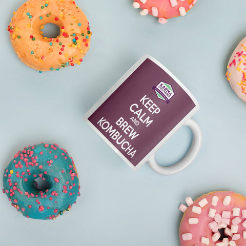 Mug - Keep Calm Purple - Karma Cultures