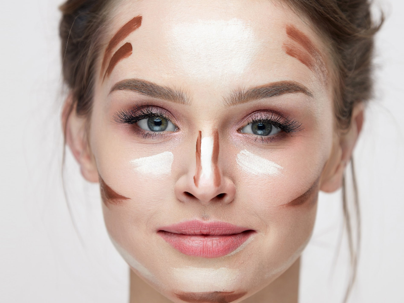 How to Contour According to Your Face Shape | Beauty Wellbeing