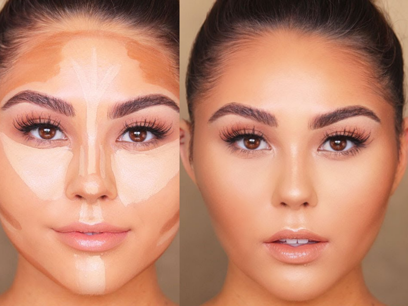 How to Contour According to Your Face Shape (1) | Beauty Wellbeing