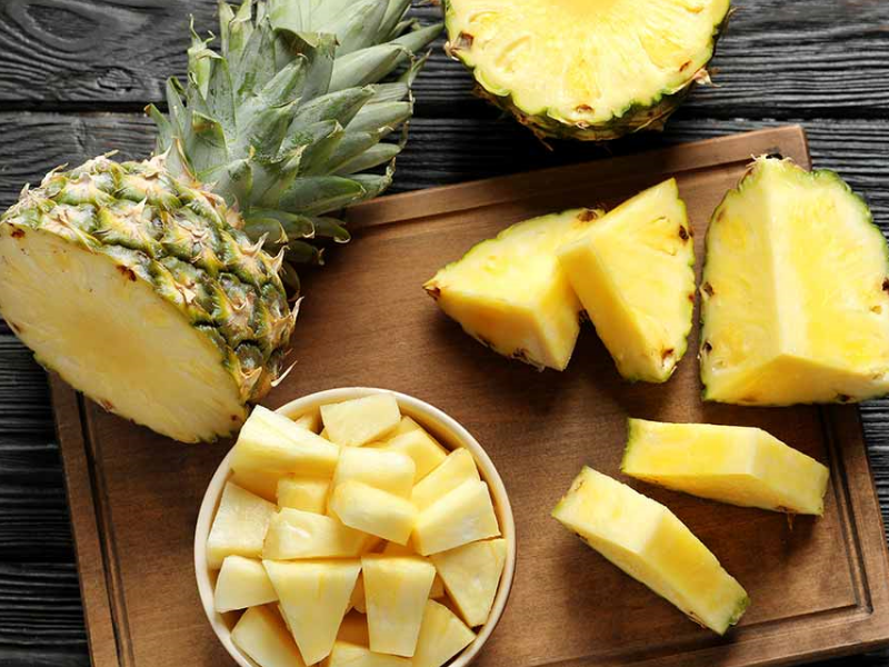 Pineapple health benefits for the digestive system | Beauty Wellbeing Blog