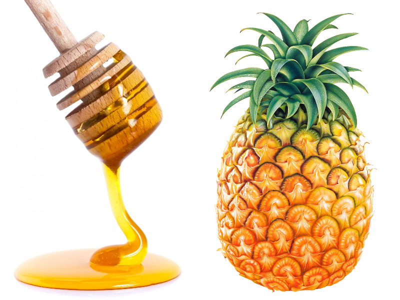 honey and pineapple homemade facial mask beauty wellbeing