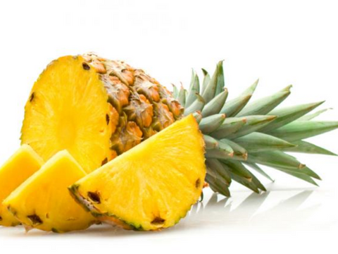 pineapple hair mask DIY homemade natural beauty wellbeing