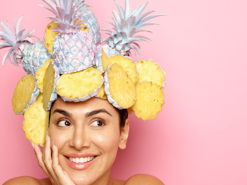 DIY Pineapple Facial Scrub For Acne Prone Skin | Beauty Wellbeing