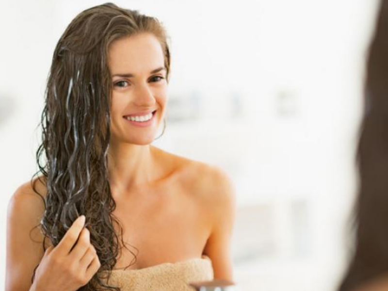 Nourishing Conditioner Summer Hair Care Tips | Beauty Wellbeing Blog