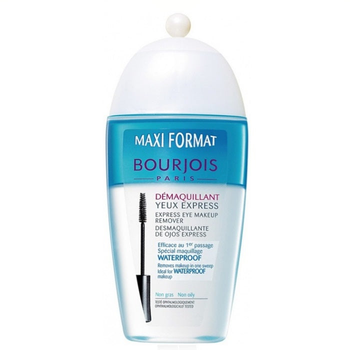 Bourjois Maxi Format Demaquillant Express Eye Makeup Remover - Non Oily / Makeup Remover | Beauty Wellbeing
