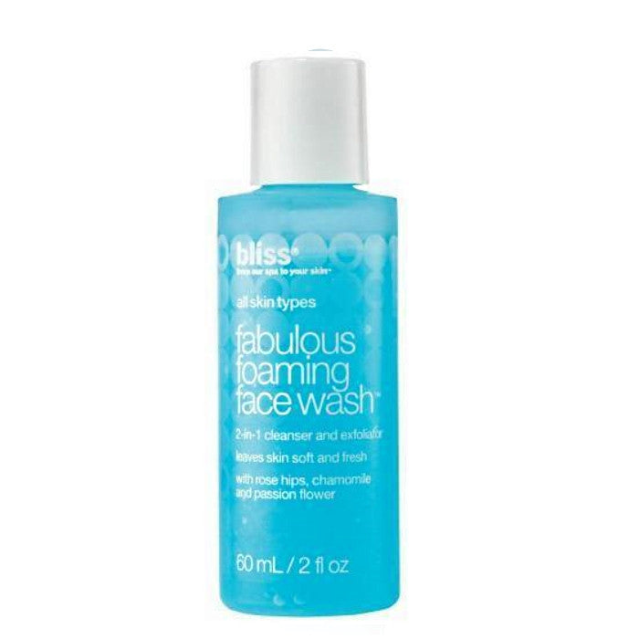 Bliss Fabulous Foaming Face Wash 60ml/2oz / Face Wash | Beauty Wellbeing
