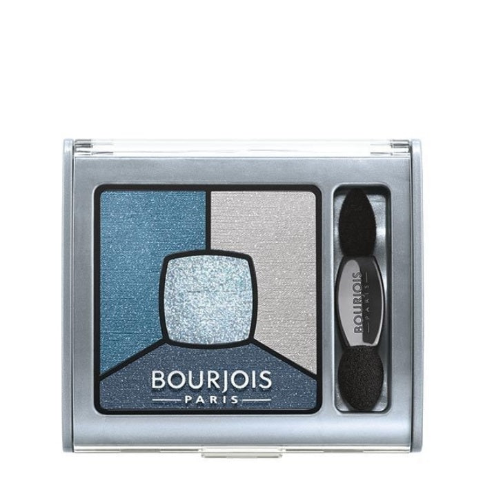 Bourjois Smoky Stories Quad Eyeshadow Pallette - # 11 E-Blue-Issant / Eyeshadow | Beauty Wellbeing