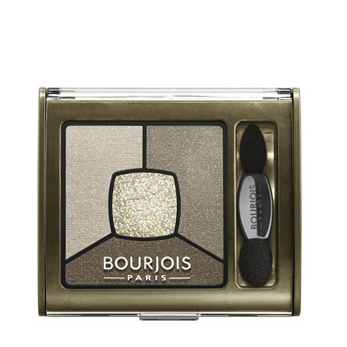 Bourjois Smoky Stories Quad Eyeshadow Palette - # 04 Rock This Khaki / Eyeshadow | Beauty Wellbeing