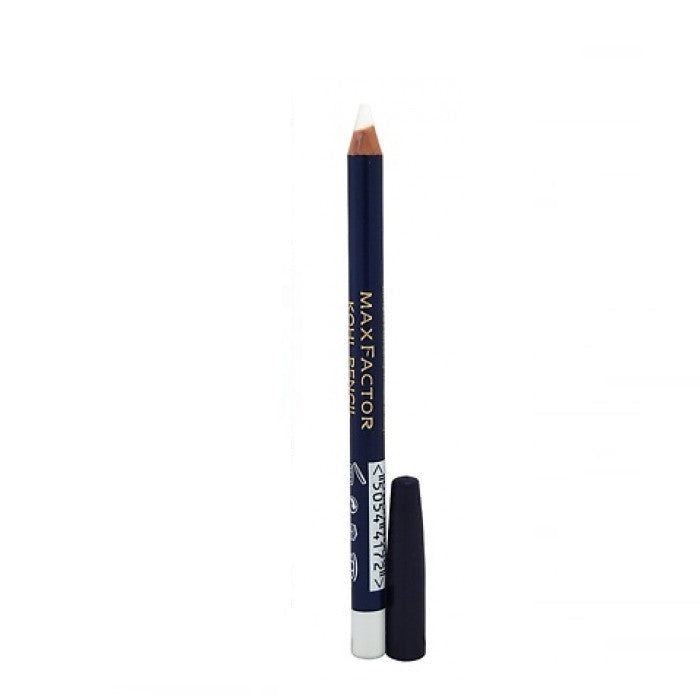 Max Factor Kohl Pencil - # 010 White 0.1oz | Beauty Wellbeing makeup