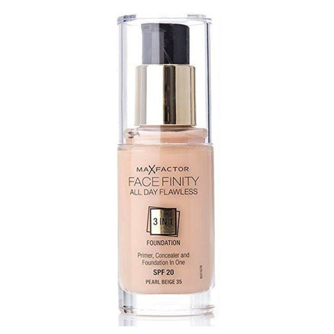 Facefinity All Day Flawless 3 In 1 Foundation SPF 20 - # 55 Beige