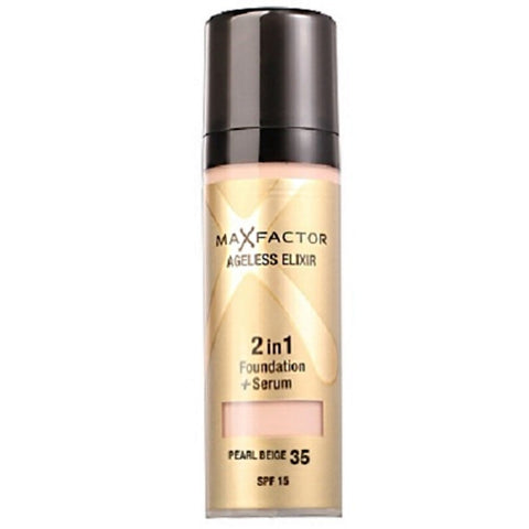 Ageless Elixir 2in1 Foundation + Serum SPF 15 - # 55 Beige