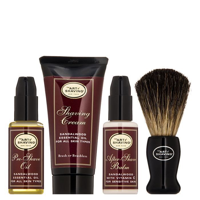 The 4 Elements of The Perfect Shave Starter Kit - Sandalwood