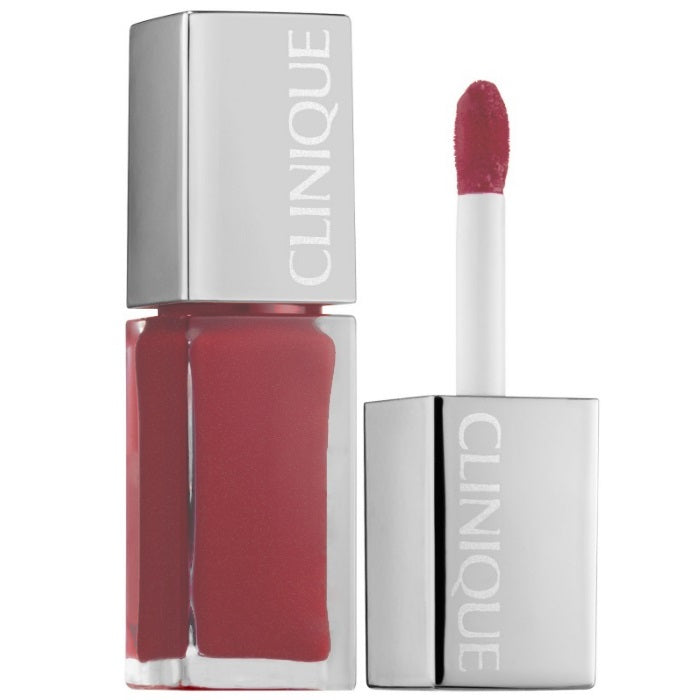 Clinique Clinique Pop Lacquer Lip Colour + Primer # 01 Cocoa Pop / Lip Gloss | Beauty Wellbeing