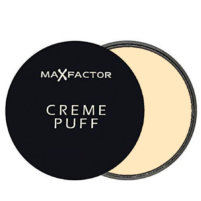 Max Factor Creme Puff Pressed Powder - # 50 Natural / Powder | Beauty Wellbeing