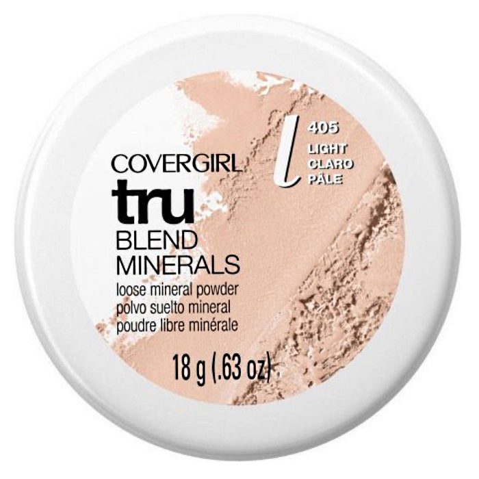 CoverGirl TruBlend Minerals Loose Powder - # 405 (Light) Translucent Fair / Powder | Beauty Wellbeing