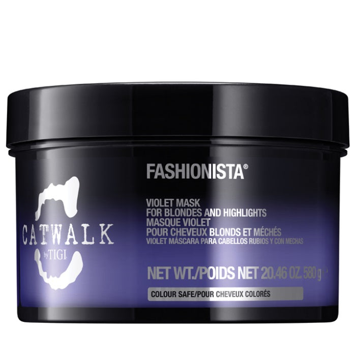 TIGI Catwalk Fashionista Violet Mask For Blondes And Highlights / Mask | Beauty Wellbeing