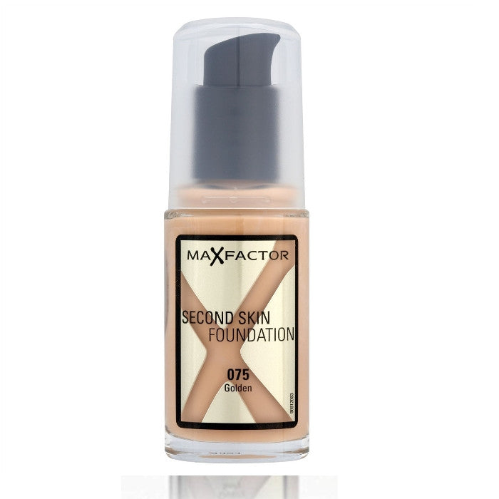 Max Factor Second Skin Foundation # 075 Golden 30ml | Beauty Wellbeing foundation makeup cosmetics