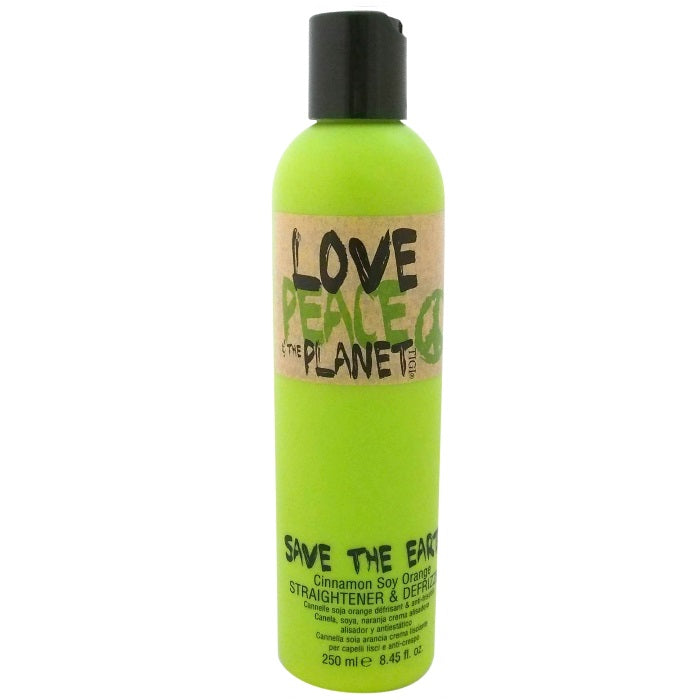 TIGI Love Peace & the Planet Save The Earth Straightener & Defrizzer / Styling | Beauty Wellbeing
