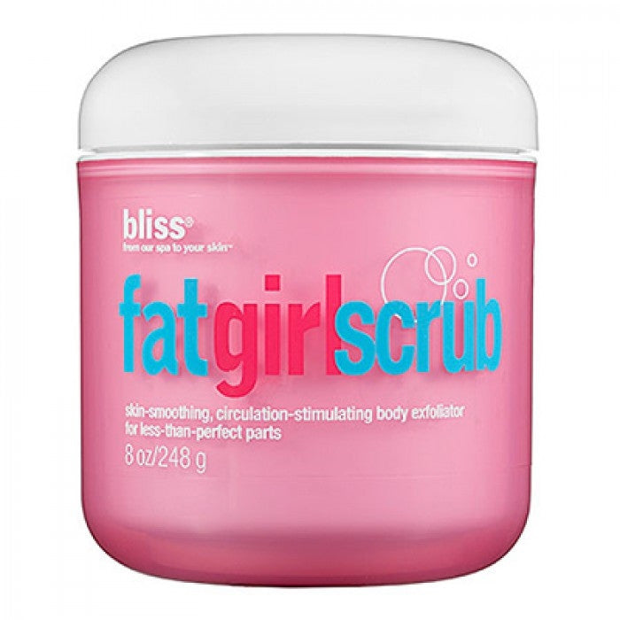 Bliss Fat Girl Scrub 250ml/8oz / Scrub | Beauty Wellbeing