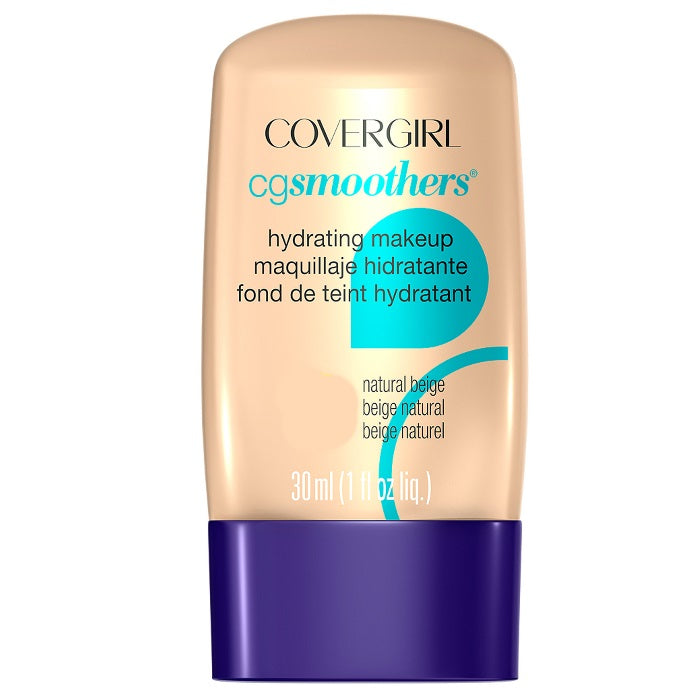 CoverGirl CG Smoothers Hydrating Make-Up - # 715 Natural Ivory / Foundation | Beauty Wellbeing