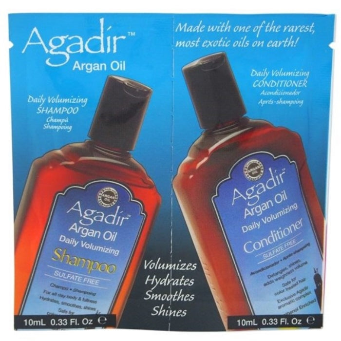 Argan Oil Daily Volumizing Shampoo & Conditioner Duo | Beauty Wellbeing