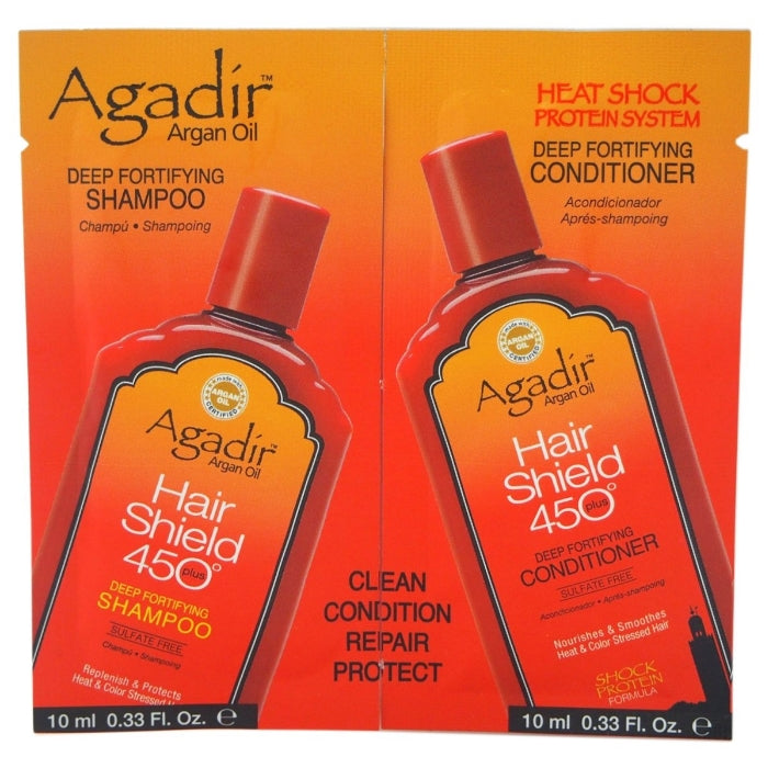 Argan Oil Hair Shield 450 Deep Fortifying Shampoo & Conditioner Duo