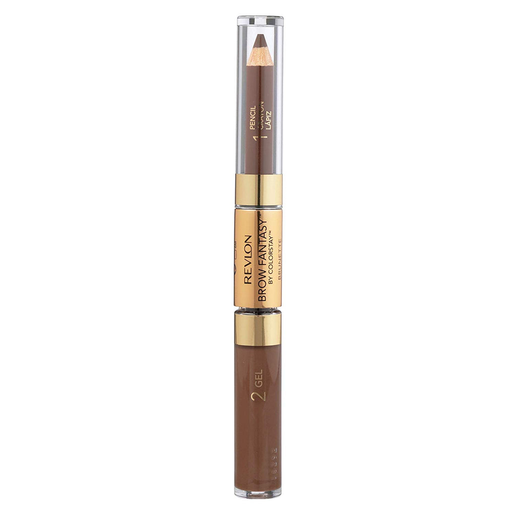 Revlon Brow Fantasy Pencil and Gel #105 Brunette | Beauty Wellbeing