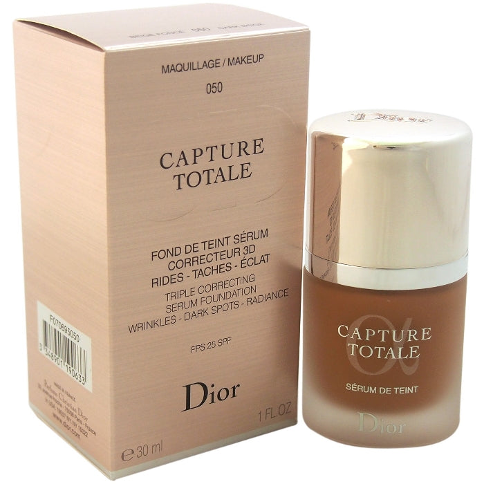 Capture Totale Triple Correcting Serum Foundation SPF 25 - # 050 Dark Beige | Beauty Wellbeing
