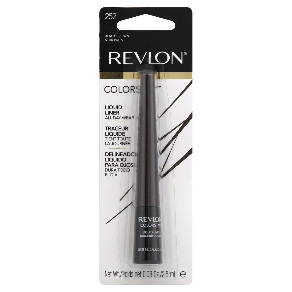 Revlon Colorstay Liquid Eyeliner #252 Black Brown | Beauty Wellbeing