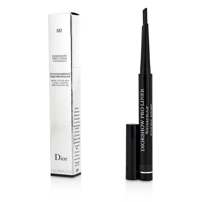Diorshow Pro Liner Waterproof Bevel-Tip Eyeliner - # 582 Pro Brown | Beauty Wellbeing