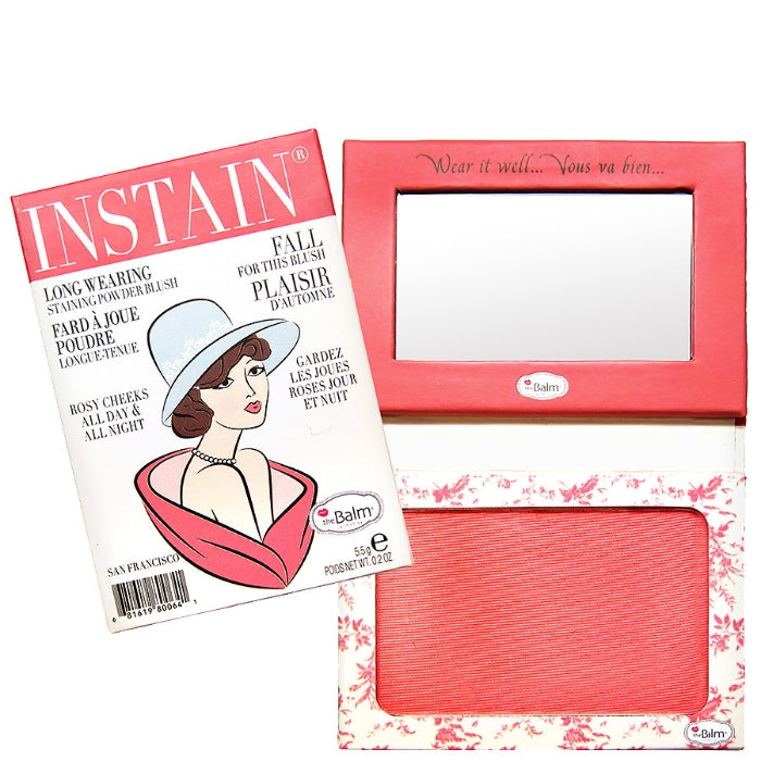 Instain Long-Wearing Powder Staining Blush - Toile