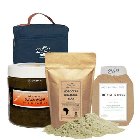 Moroccan Ghassoul Clay Powder - 5 Kilo