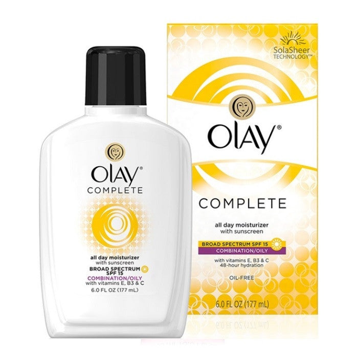 Olay Complete All Day UV Moisturizer with Vitamin E & Aloe SPF 15 / Moisturizer | Beauty Wellbeing