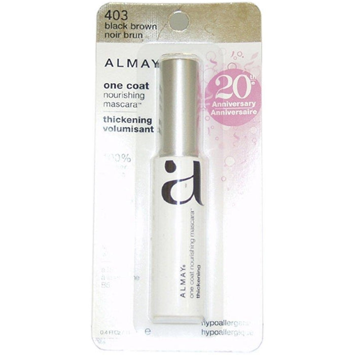 d1f72871dec One Coat Nourishing Thickening Mascara, Black Brown # 403 | Beauty Wellbeing