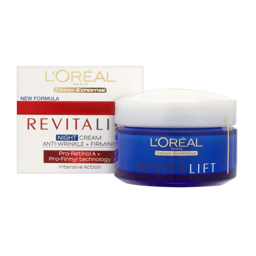 Revitalift Anti-Wrinkle & Firming Moisturizer Night Cream | Beauty Wellbeing
