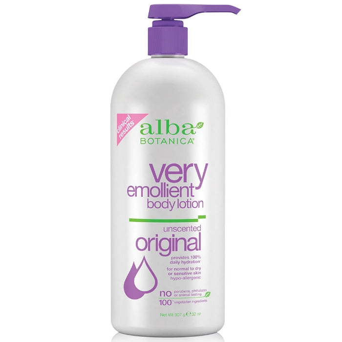 Alba Botanica Very Emollient Body Lotion Unscented | Beauty Wellbeing