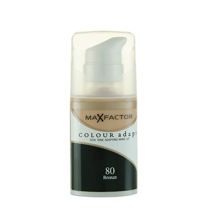 Max Factor Colour Adapt Skin Tone Adapting Makeup - # 80 Bronze 34ml / Make Up | Beauty Wellbeing