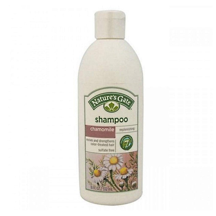 Nature's Gate Chamomile Replenishing Shampoo 532ml/18oz / Shampoo | Beauty Wellbeing