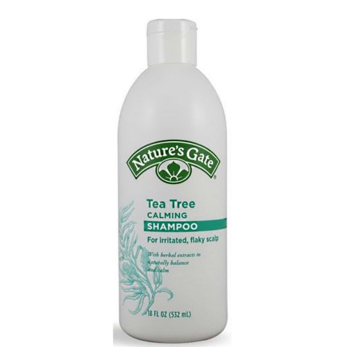 Nature's Gate Tea Tree Calming Shampoo 532ml/18oz / Shampoo | Beauty Wellbeing