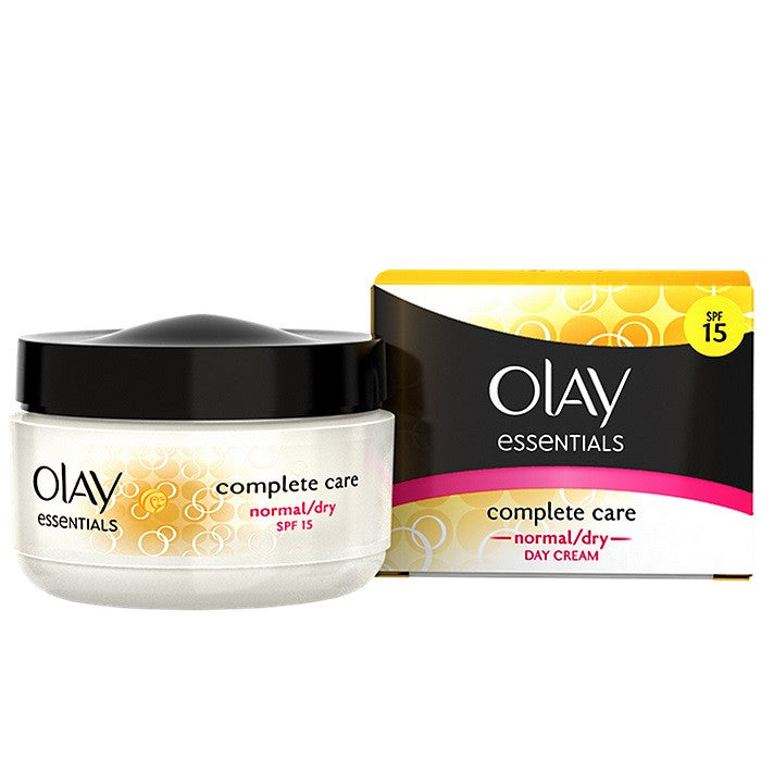 Olay Essentials Complete Care Day Cream SPF 15 - Normal/Dry / Cream | Beauty Wellbeing
