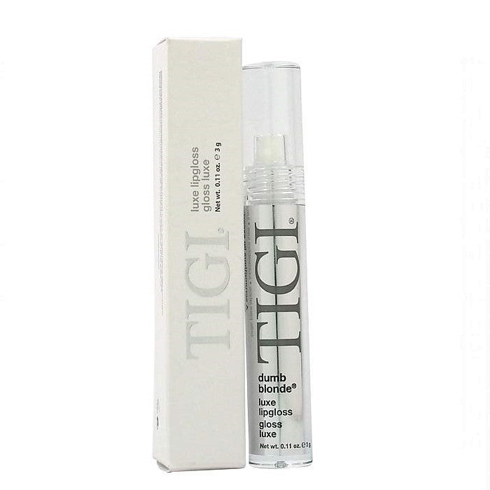 TIGI Luxe Lip Gloss - Dumb Blonde / Lip Gloss | Beauty Wellbeing