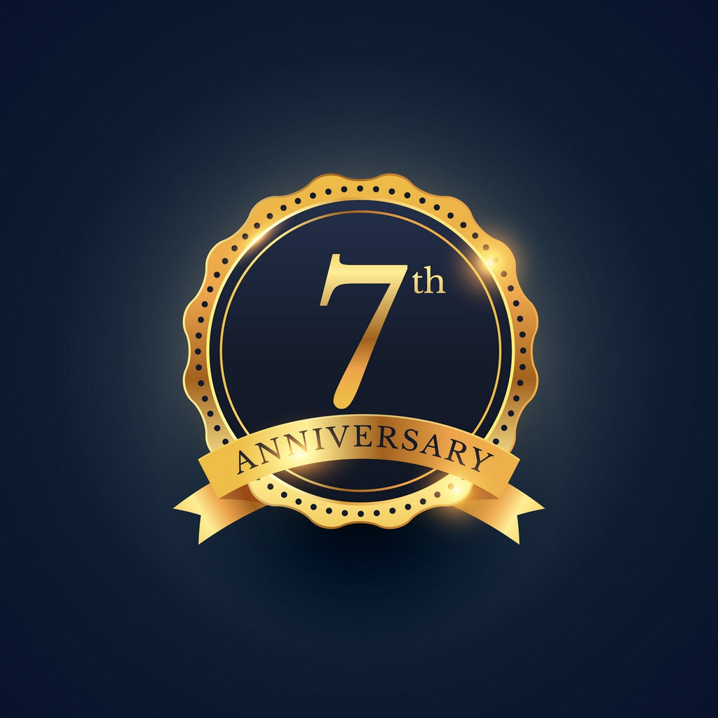 7th Anniversary Celebrations - come join us Saturday November 19th-December 1st