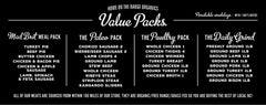 Value Packs
