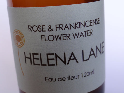 Helena Lane - Rose & Frankincense Flower Water -120ml - $26 - HOTRO.ca