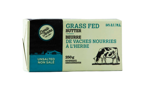 Donia Farms Unsalted Grass Fed Butter 250g