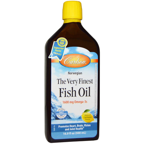 Carlson Labs Norwegian Fish Oil - 500ml (price includes taxes)